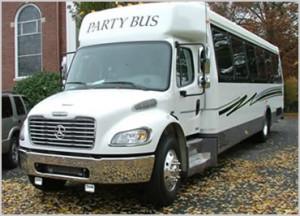 party bus 27 pax