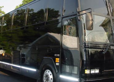 VIP Limo Bus in NJ & NYC for 55 Passengers