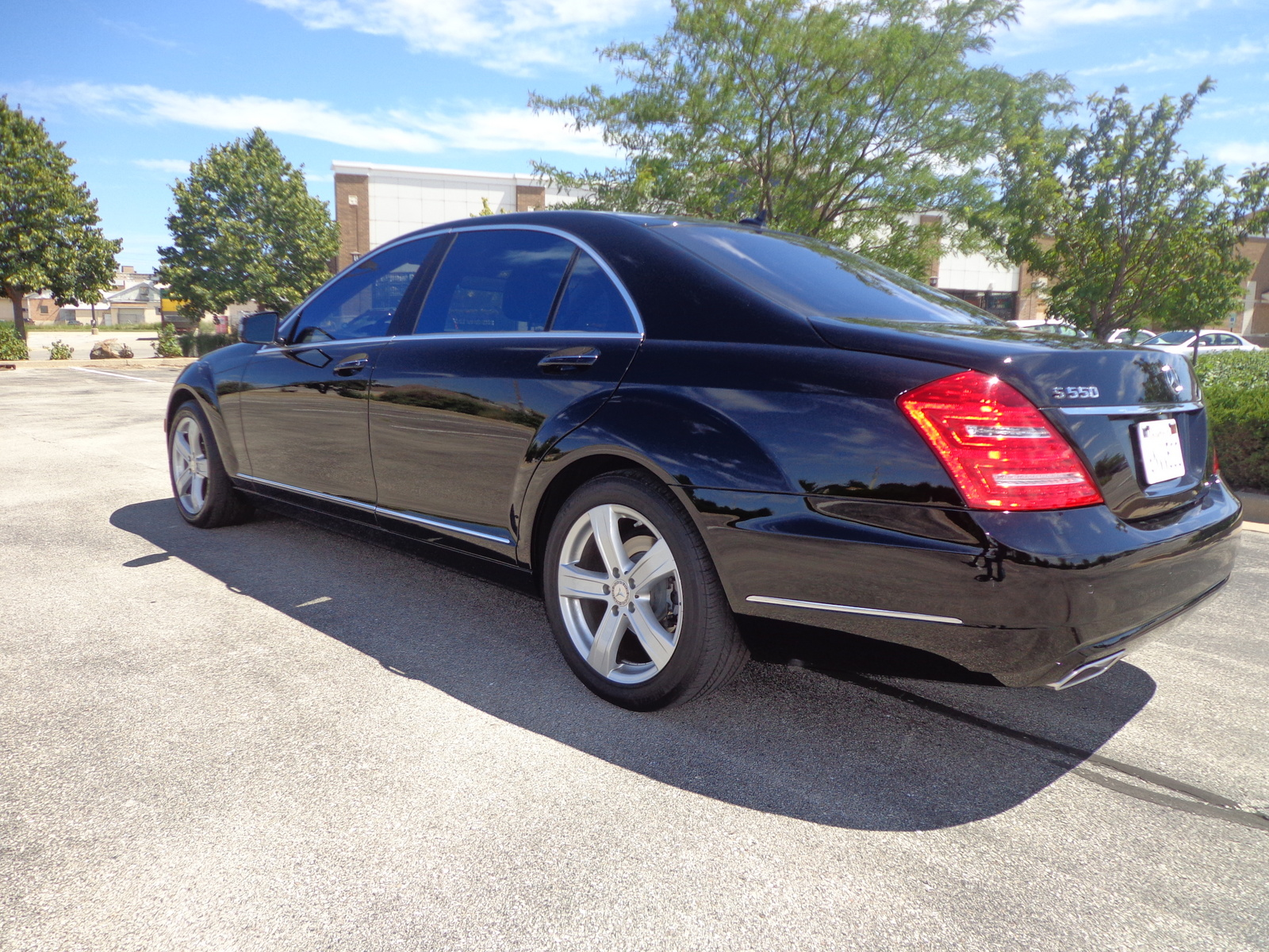 US Bargain Limo Mercedes Benz S 550
