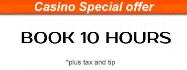 Casino special Offer of US Bargain Limo