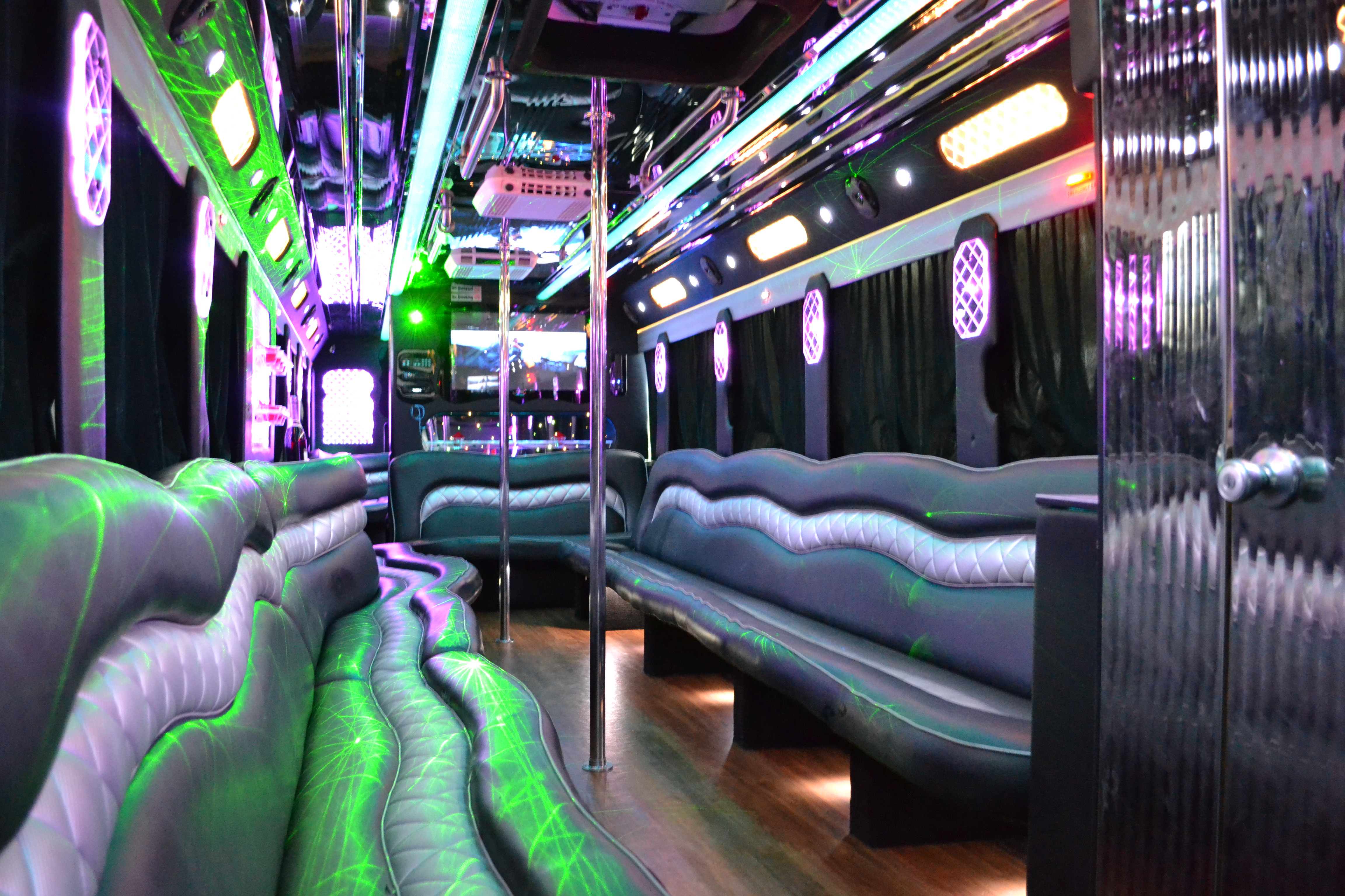 50 Pax party bus with a VIP Room