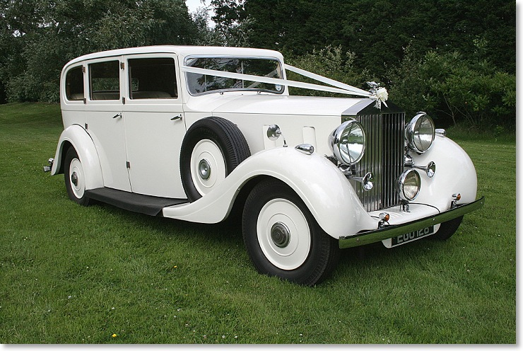 Wedding Rolls Royce limo