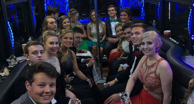 Prom Party Limo