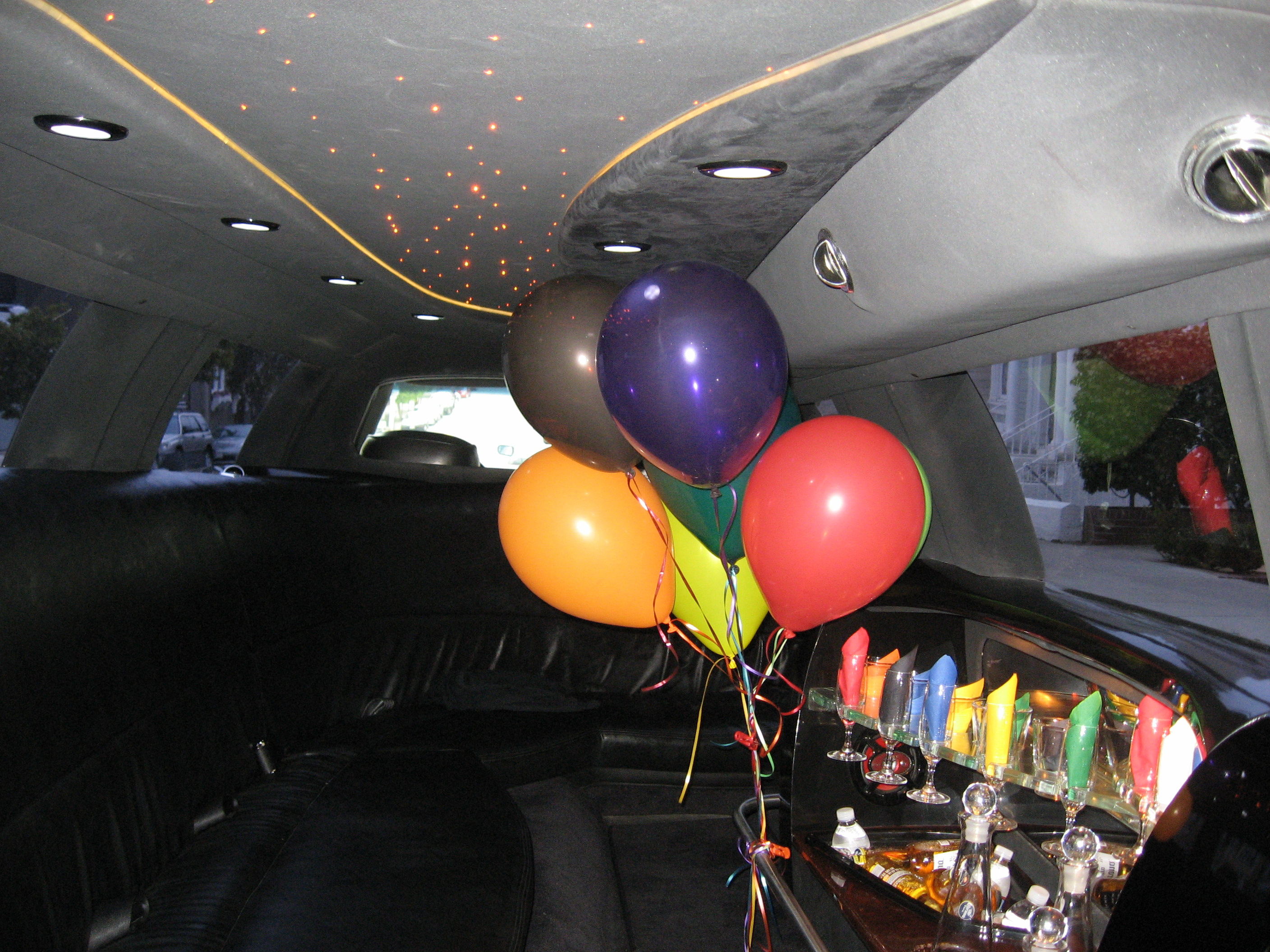 Interior Design of Birthday Limo Rental