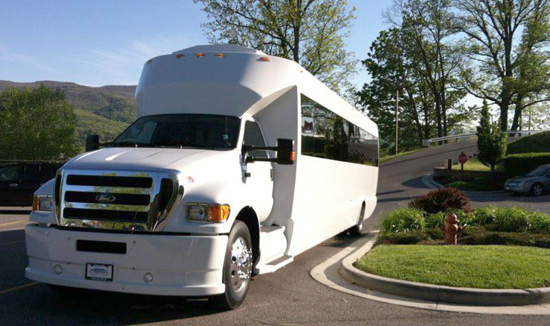 Luxurious Tailgating Party Bus Service